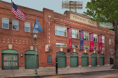 Digital Art - Fenway Park - Best Of Boston by Susan Candelario