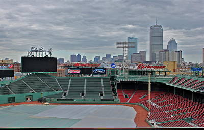 Photograph - Fenway Park Boston by Amazing Jules