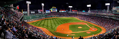 Photograph - Fenway Park Boston 0476 by Jeff Stallard