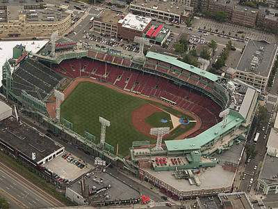Photograph - Fenway Park by Joshua House