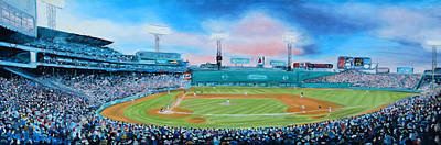 Fenway Park Boston Painting - Fenway Park by Sue Birkenshaw