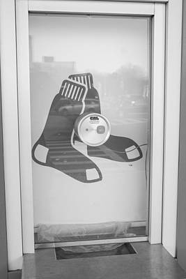 Photograph - Fenway Park Ticket Window by John McGraw