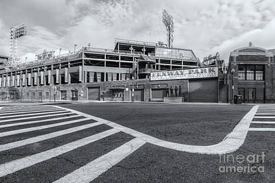 Fenway Park Photograph - Fenway Park V by Clarence Holmes