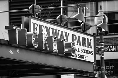 Nirvana - Fenway Tickets bw by Jerry Fornarotto