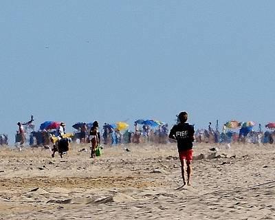Photograph - Beach Scene - Fenwick Island Delaware by Kim Bemis
