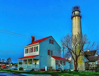 Photograph - Fenwick Island Lighthouse by Nick Zelinsky