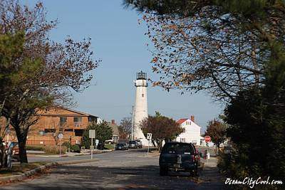 Photograph - Fenwick Island Lighthouse by Robert Banach