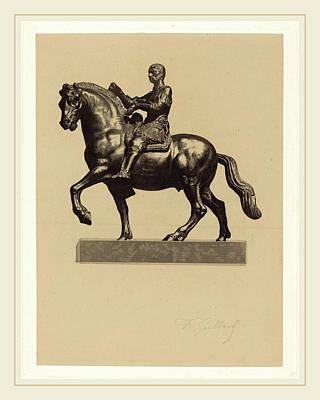 Ferdinand Gaillard After Donatello French Art Print by Litz Collection