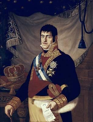 Ferdinand Vii Of Spain 1784-1833. King Art Print