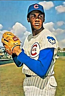 Chicago Cubs Painting - Fergie Jenkins by Florian Rodarte