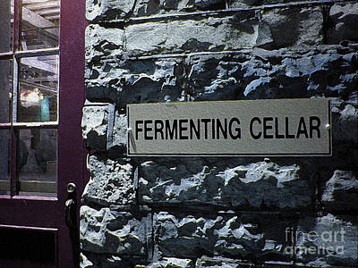 Photograph - Fermenting Cellar by Nina Silver