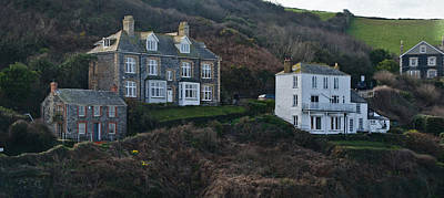 Port Isaac Cornwall Photograph - Fern Cottage Port Isaac by Chris Thaxter