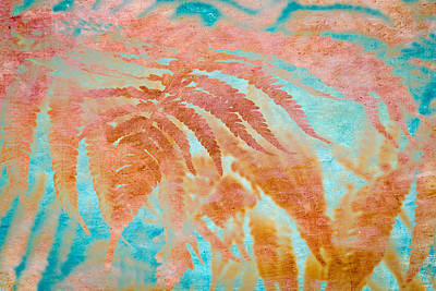Mixed Media - Fern Impressions Art by Priya Ghose
