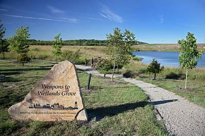 Wetlands Photograph - Fernald Preserve by Jim West