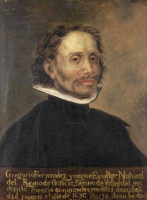 Statue Portrait Photograph - Fernandez, Gregorio 1576-1636. Spanish by Everett