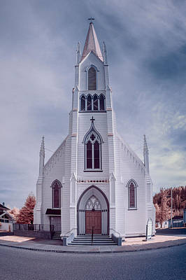 Photograph - Ferndale Church by Greg Nyquist
