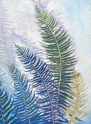 Painting - Ferns by Nick Payne