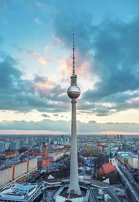 Fernsehturm - Berlin Tv Tower Art Print by Danilovi