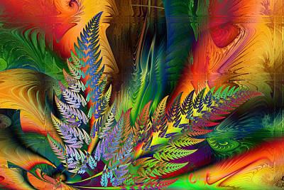 Digital Art - Ferntopia by Kiki Art