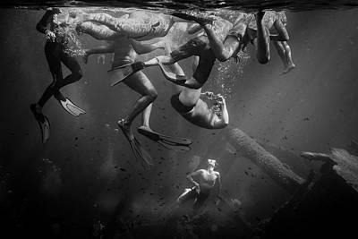 Swimming Wall Art - Photograph - Ferragosto by Federico Lazzeretti