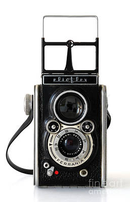 Photograph - Ferrania Elioflex Camera by RicardMN Photography