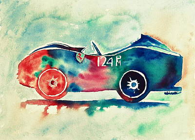 Painting - Ferrari 124 Pm by Shruti Prasad