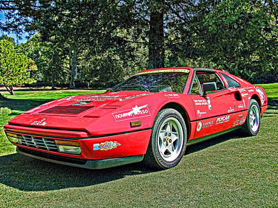 Photograph - Ferrari 328 Spyder by Samuel Sheats