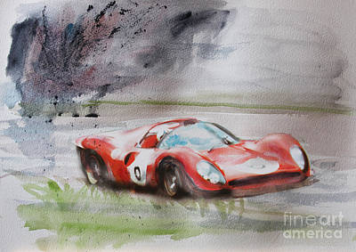 Ferrari 330p4 Spyder  Art Print