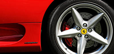 Photograph - Ferrari 360 Modena  by Gordon Dean II