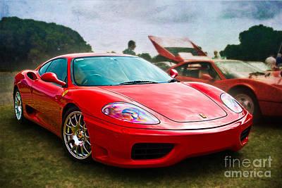 Photograph - Ferrari 360 by Stuart Row