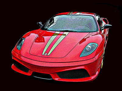 Photograph - Ferrari 430 Scuderia by Samuel Sheats