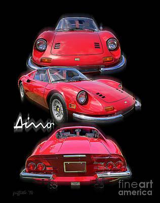 Photograph - Ferrari 5 by Tom Griffithe
