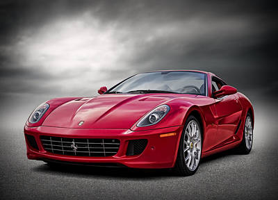 Automotive Digital Art - Ferrari 599 Gtb by Douglas Pittman