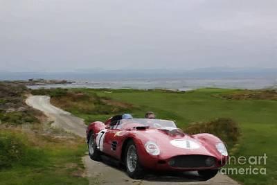 Photograph - Ferrari 7 by Tom Griffithe