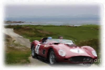 Photograph - Ferrari 8 by Tom Griffithe