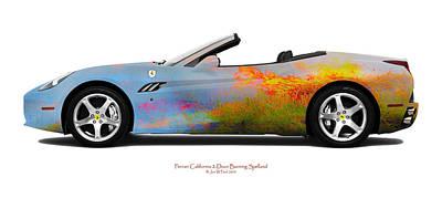 Ferrari California Burning Sealand Original