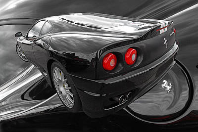 Photograph - Ferrari Challenge Stradale by Gill Billington