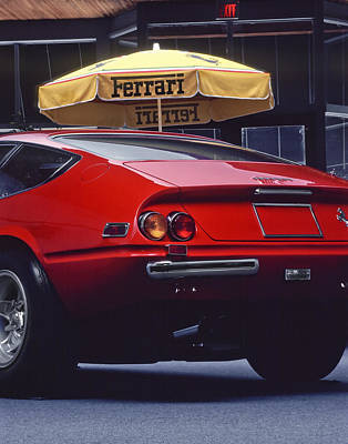 Photograph - Ferrari by David and Carol Kelly