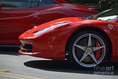 Photograph - Ferrari by Dean Ferreira