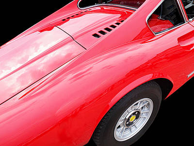 Photograph - Ferrari Dino by Gill Billington