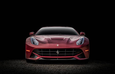 Digital Art - Ferrari F12 by Douglas Pittman