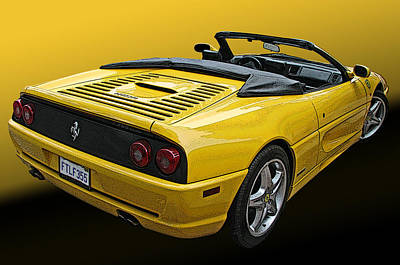 Photograph - Ferrari F355 Spider by Samuel Sheats