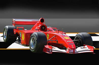 Ferrari Formula One F1 Art Print