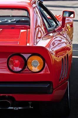 Tail Photograph - Ferrari Gto 288 Taillight -0631c by Jill Reger