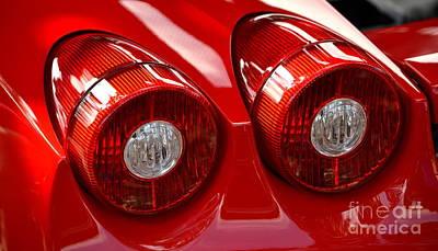 Photograph - Ferrari Red by Dean Ferreira