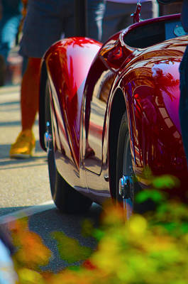 Photograph - Ferrari Reflections 2014 by Deprise Brescia