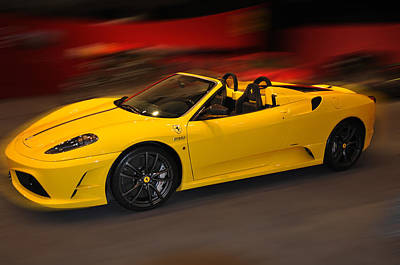Photograph - Ferrari Scuderia Spider  by Dragan Kudjerski