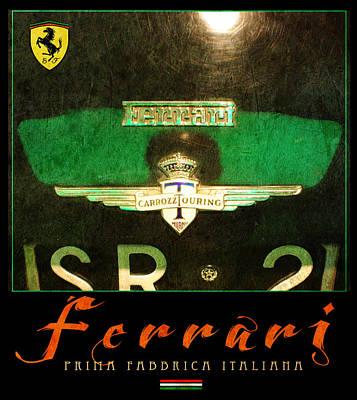 Ferrari Two Art Print