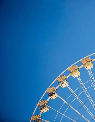 Ferris Wheel 1 Art Print by Rebecca Cozart