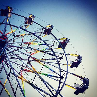 Ferris Wheel At Dusk Original